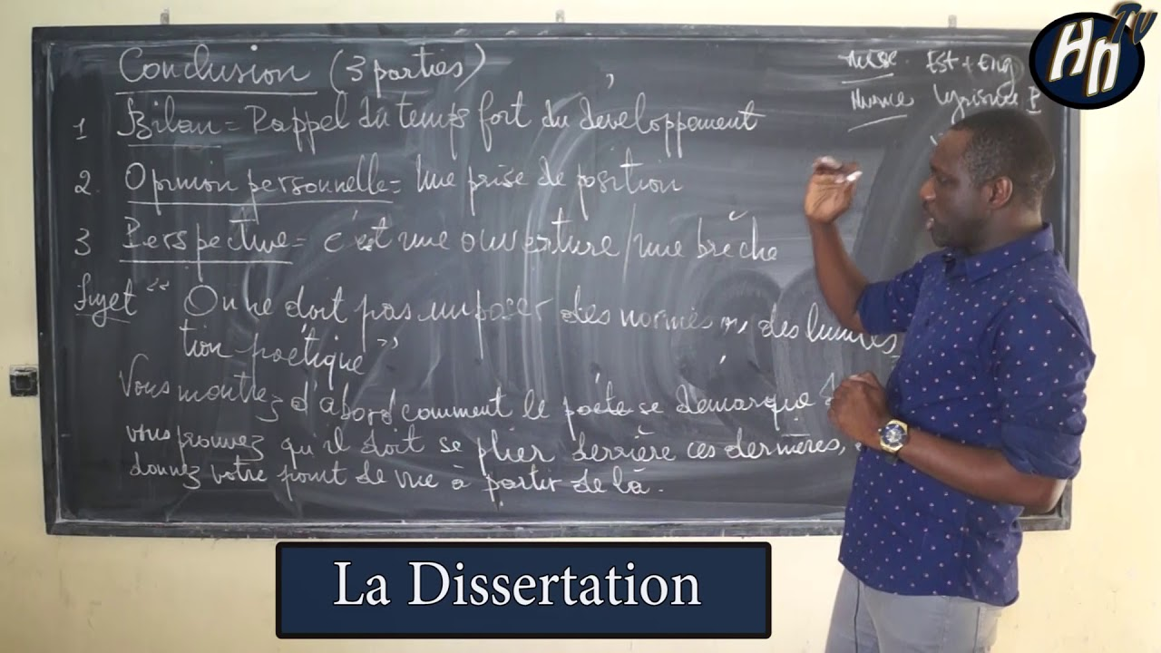 Résultats Page 8 Conclusion Dissertation Théâtre | Etudier