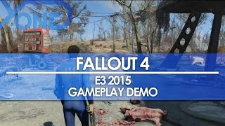 Fallout 4 - FULL E3 2015 GAMEPLAY PRESENTATION