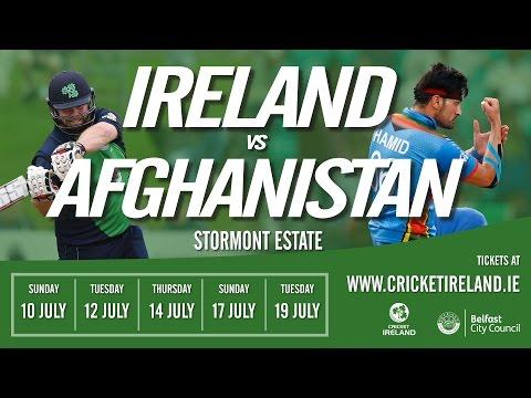 Live: Ireland vs Afghanistan in Belfast 5th ODI