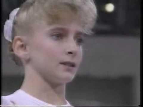 Shannon Miller 1992 Olympics AA Vault