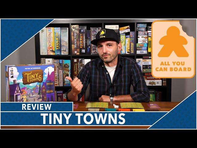 Tiny Towns: Review by AYCB
