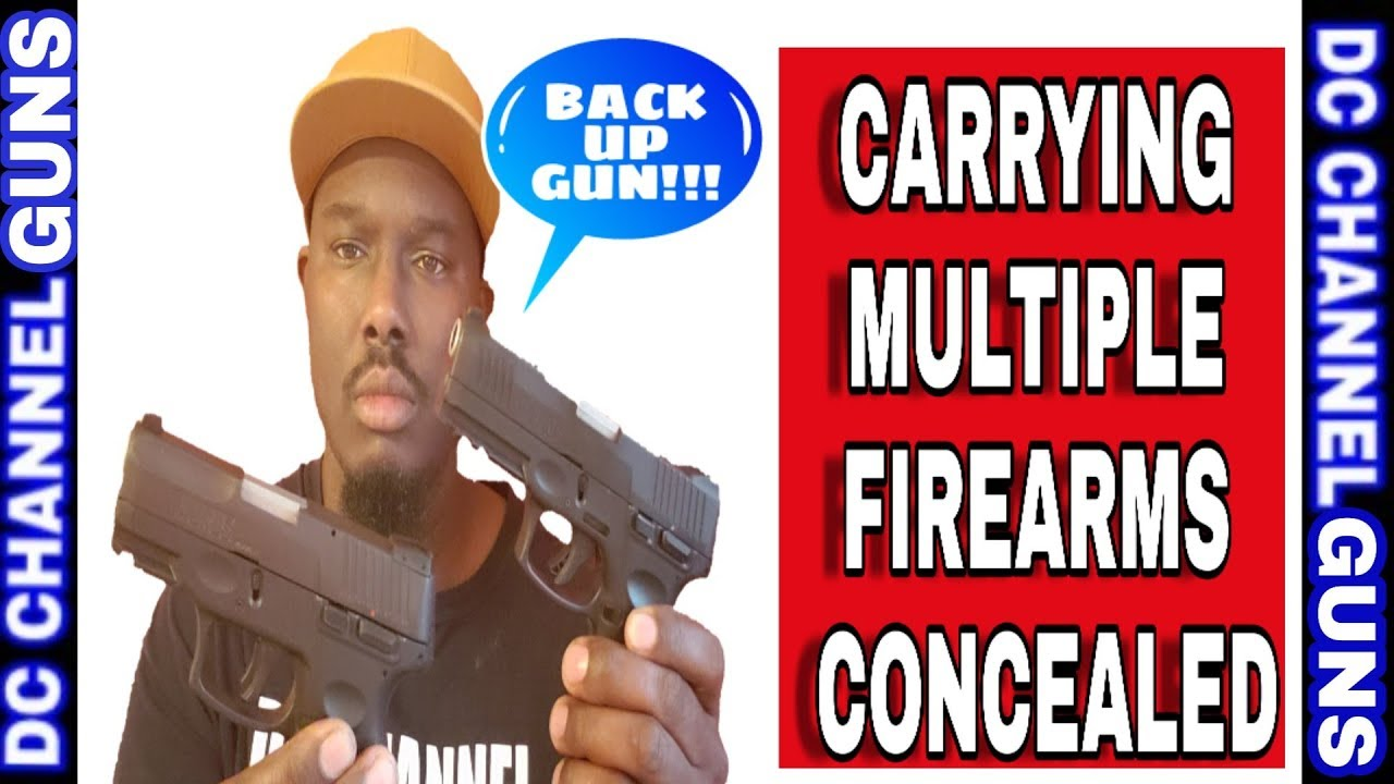 Carrying Multiple Firearms Concealed Carry ( EDC ) | GUNS