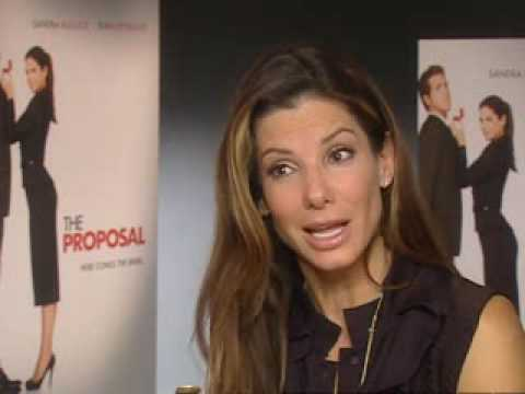 Sandra Bullock Happy To Get Naked In New Film The Proposal Youtube