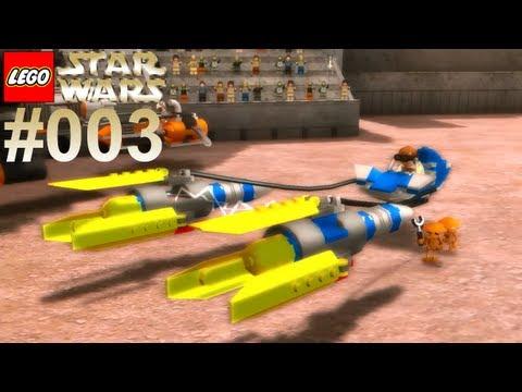 Let's Play LEGO Star Wars #003 Podracer Rennen [Together] [Deutsch] [Full-HD]