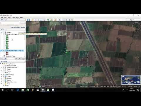 Cara memasukkan koordinat dalam bentuk excel ke dalam google earth #GoogleEarth #Excel #Koordinat..