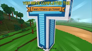 Block Craft 3D : Building Simulator Games For Free Gameplay#339 (iOS & Android)|Teen Titans Go Tower