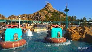 [4K] AquaTopia Ride - Trackless Technology - Tokyo DisneySea 2016