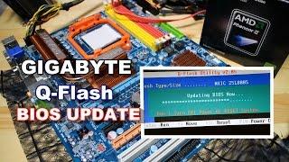gigabyteの q flash でbios更新 アップデート して古いマザーボード ga ma790gp ds4h をまだ使う件