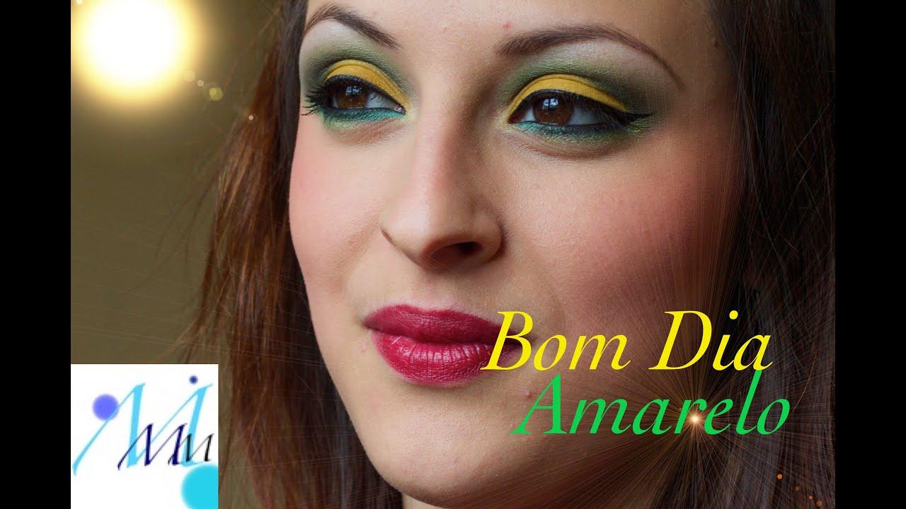 maquillage color bom dia amarelo - Colori Maquillage
