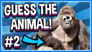 WHAT IS THIS ANIMAL!? | Guess The Famous Characters | Roblox