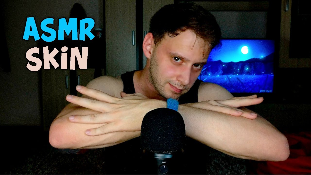 ASMR HAND AND SKIN SOUNDS | LAYERED 2 MIC SOUNDS