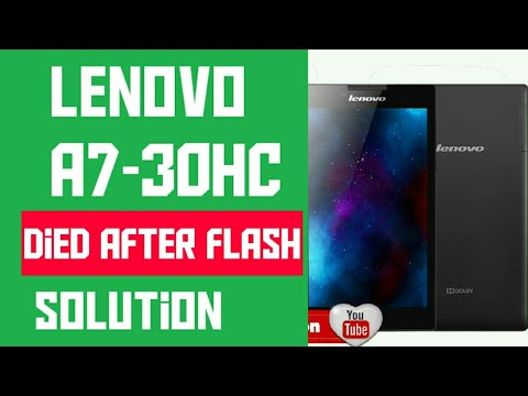 Lenovo tab 2 A7-30HC flashing tutorial | FunnyDog TV