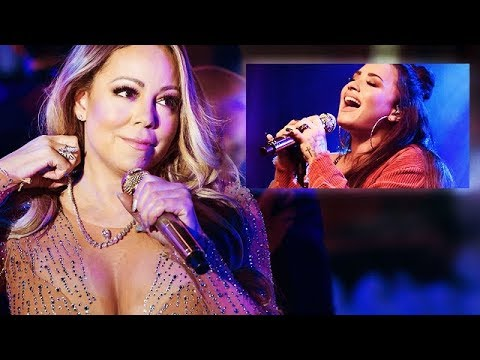 Mariah Carey REACTING To Demi Lovato's 2018 LIVE VOCALS!