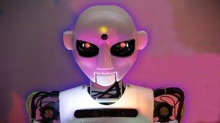 Робот угрожает человечеству (смотреть до конца)