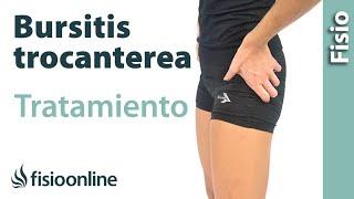 Trocanteritis o bursitis trocantérea - Tratamiento con ejercicios, automasajes y estiramientos