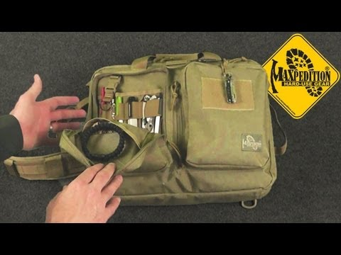 Maxpedition Testudo Laptop Case: Tactical, Toned Down
