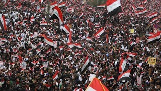 Hundreds Of Thousands Of Iraqis Protest For US To Withdraw