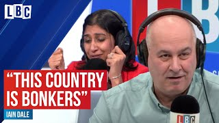 This country is bonkers: Angry caller rages at ex-Minister over Brexit bongs