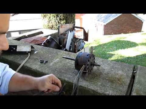 How To Test - Air Conditioner Fan Motor - YouTube
