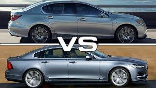 2019 Acura RLX vs 2018 Volvo S90