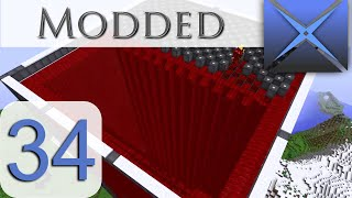 BIGGEST BIG REACTOR!!!: Mod Sauce III (Modded Minecraft | 60 fps) Episode 34