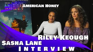AMERICAN HONEY - Interview with Sasha Lane and Riley Keogh