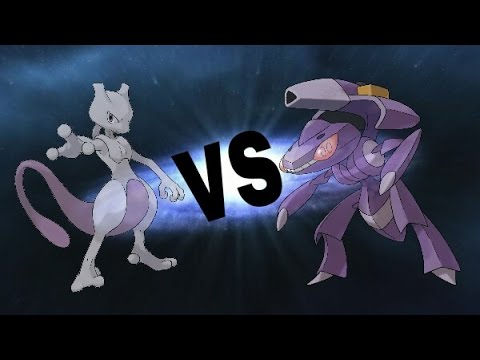 Mewtwo VS Genesect - YouTube