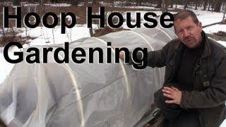 Seed Starting In A Hoop House Cold Frame #5 : Gardenfork.tv