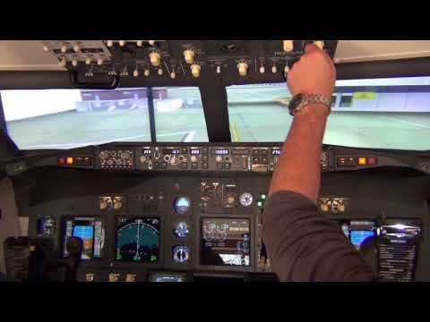 B737 - Home Cockpit flight to Bristol with VATSIM ATC