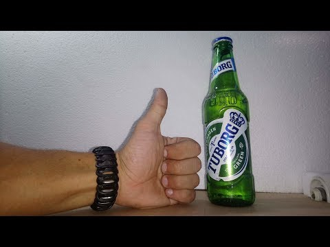 How To Make a Bracelet Using Beer Caps