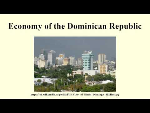 Economy of the Dominican Republic