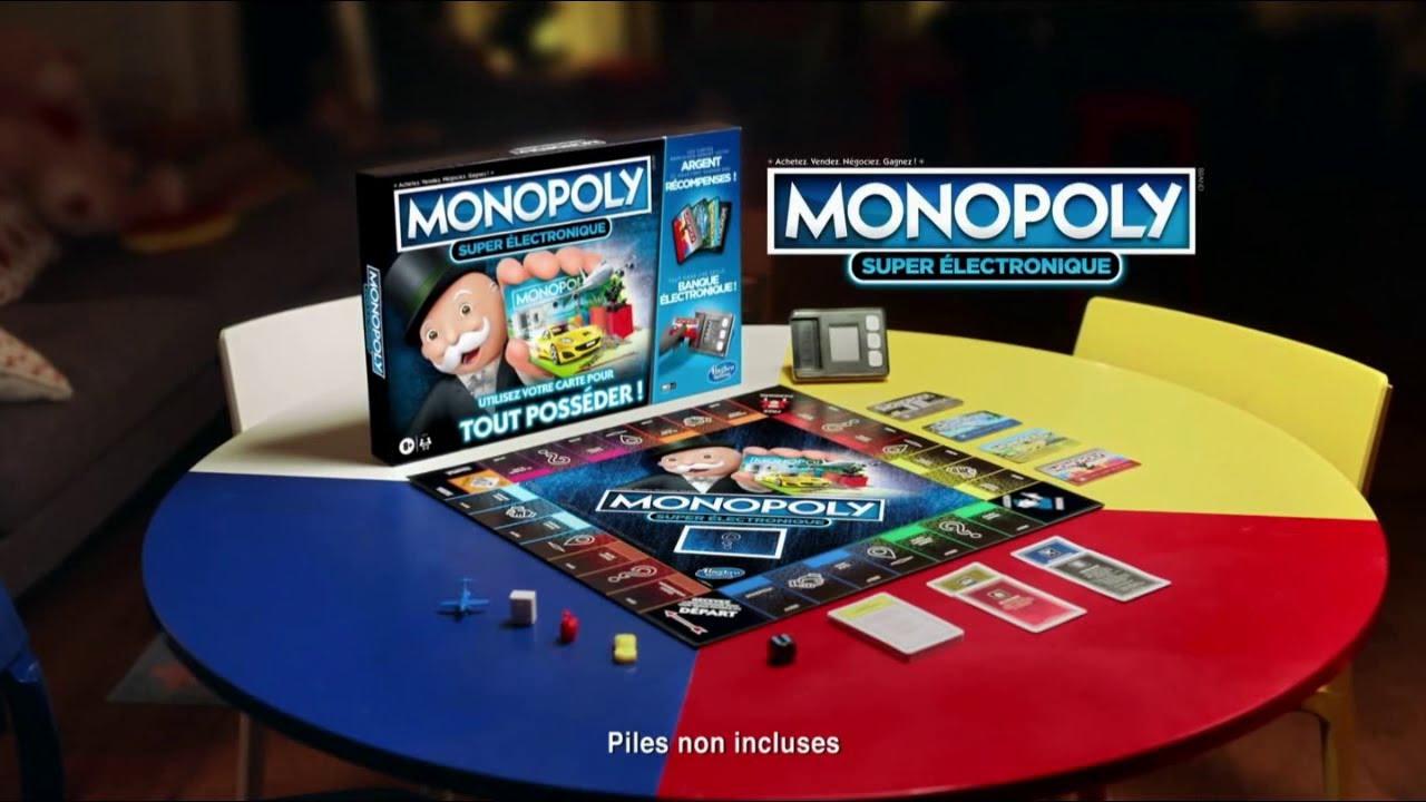 """Musique de la pub Monopoly Super électronique Hasbro """"tous les rêves sont permis""""  2021"""
