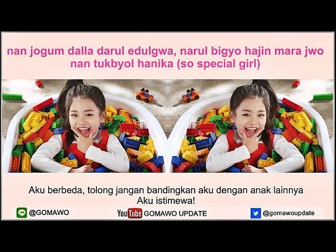 Easy Lyric NA HAEUN - SO SPECIAL by GOMAWO [Indo Sub]