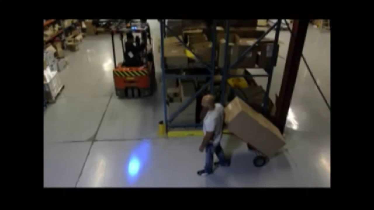 Forklift Blue Spot Warning Light 614 583 5749 Youtube