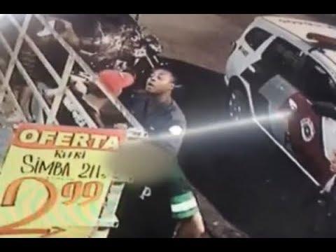 Policiais militares são flagrados agredindo jovem durante abordagem | SBT Brasil (09/03/18)