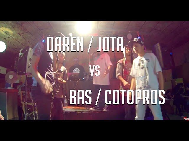 BDM Duplas / Final / Cotopros & Bas VS Daren & Jota Freestyle