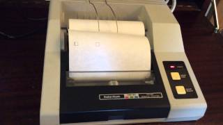 TRS 80 4 pen printer working