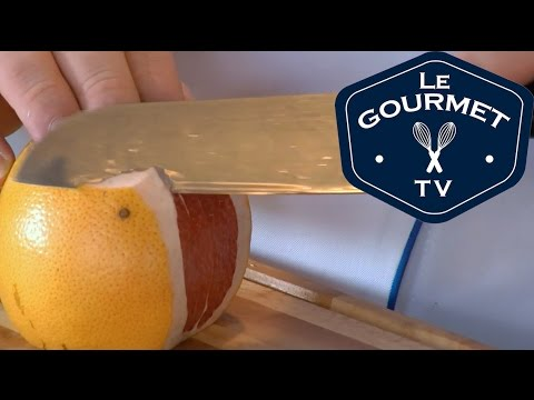 Chef Tip  How to Peel and Segment a Grapefruit  Le Gourmet TV Recipes