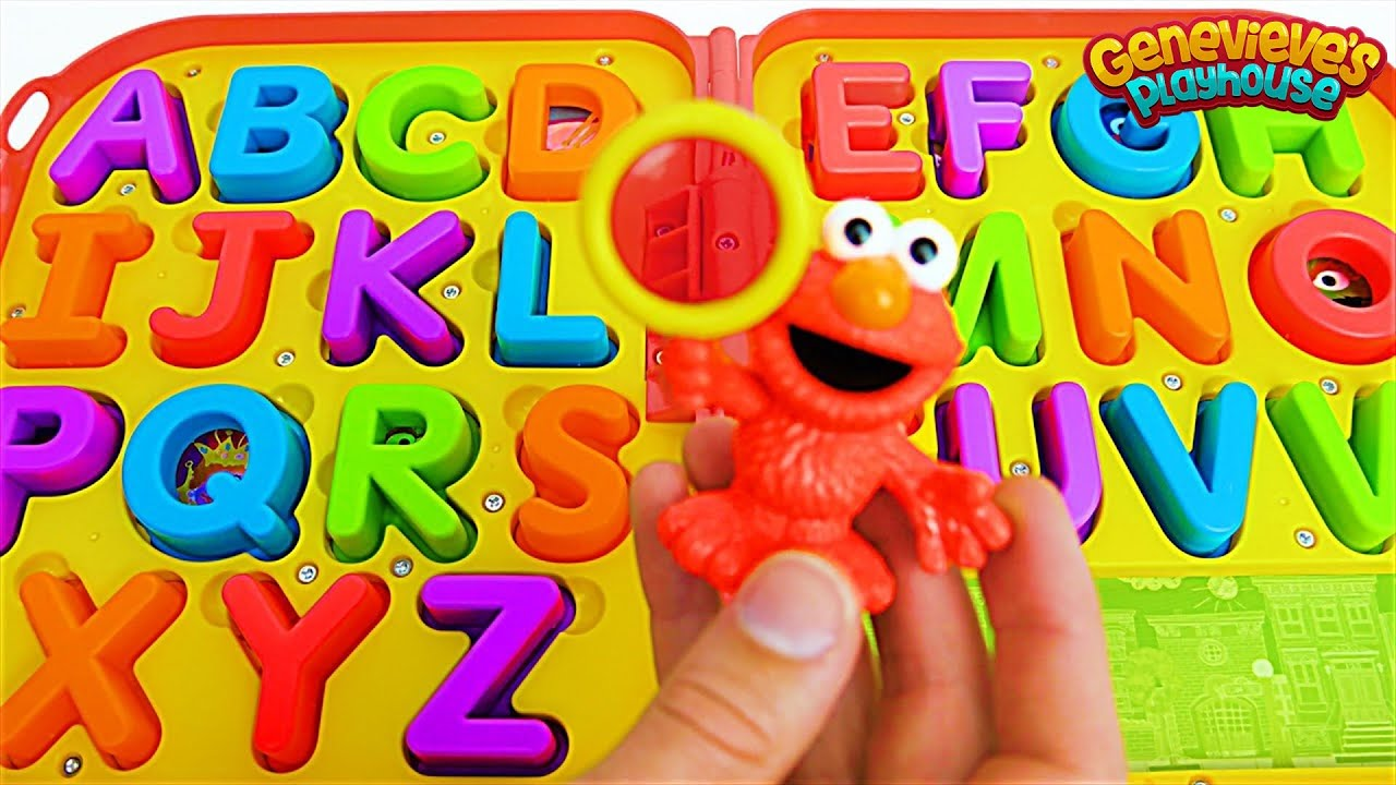 Download Kids, help Elmo find all of the Missing Letters so we can Spell Words!
