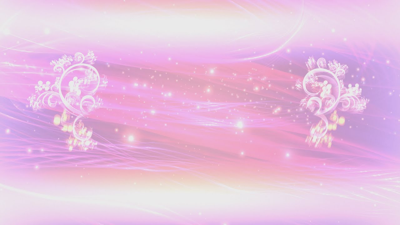 Wallpaper Pastel Polos 4k Pink Floral Thread Of Lights Title Intro Motion Background