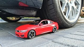 Crushing BMW M4 toy and other things by CAR!