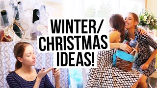 CHRISTMAS & WINTER IDEAS || DIY Gifts, Winter Skincare Tips & Party Hair!