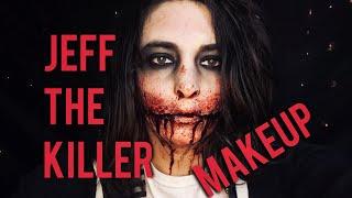 Jeff the Killer Makeup