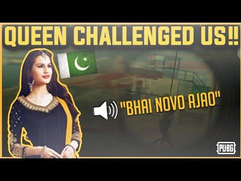 Two Pakistani Pro Girls Challenge us Come Novo - Pubg Pakistan