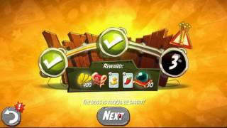 Beat The Daily Challenge King Pig Panic Completed in Angry Birds 2 wednesday