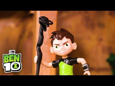 Ben 10 DIAMONDHEAD in The Forbidden Temple! | Ben 10 Toys | Cartoon Network thumbnail