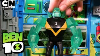Ben 10 DIAMONDHEAD in The Forbidden Temple! | Ben 10 Toys | Cartoon Network