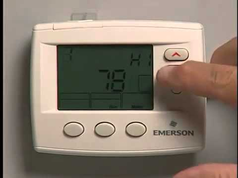 White Rodgers Thermostats Features And Benefits Younits Youtube