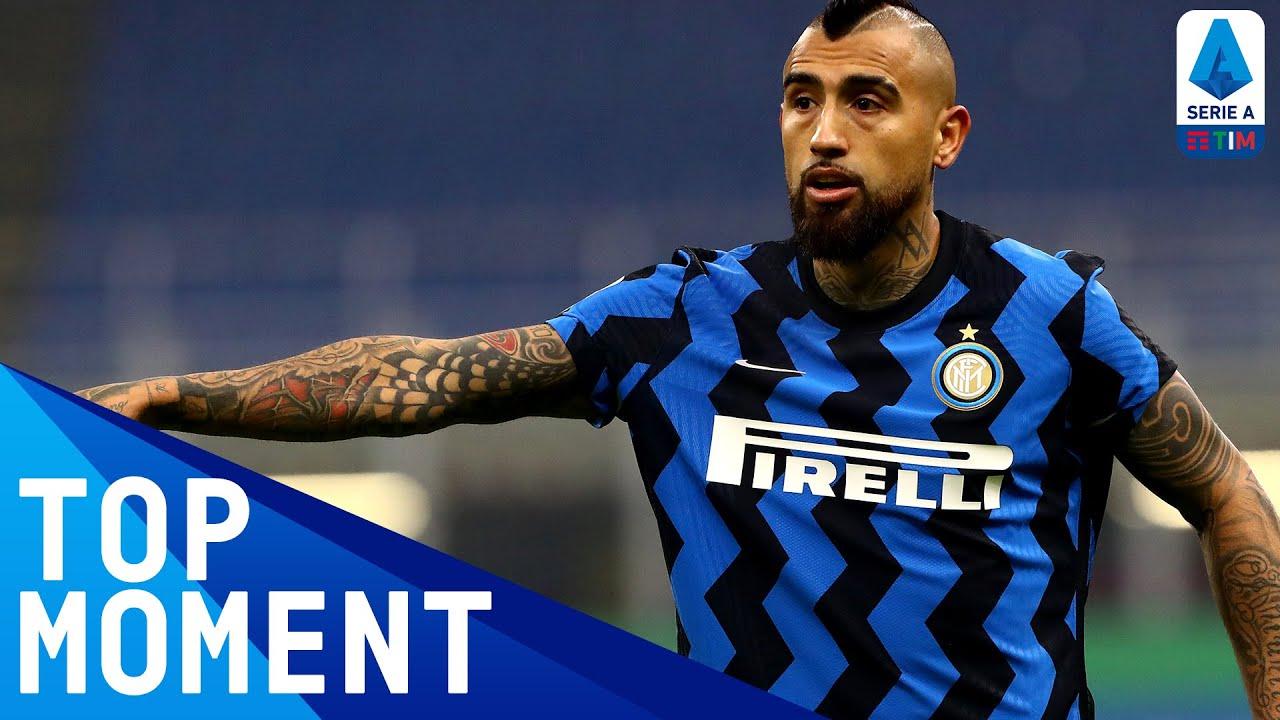 Vidal opens the scoring at San Siro | Inter 2-0 Juventus | Top Moment | Serie A TIM