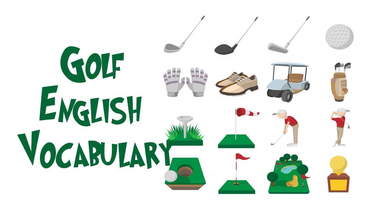 English Vocabulary   Golf Vocabulary Words